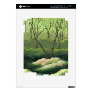 Trees in an Enchanted Forest Decal For iPad 3