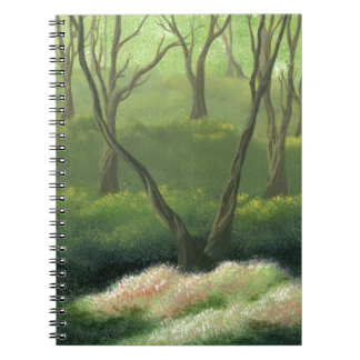 Trees in an Enchanted Forest Notebook