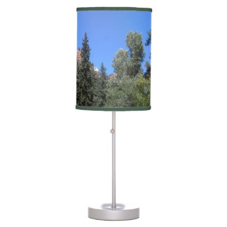 TREES IN CHEYENNE CANYON TABLE LAMPS