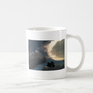 Trees in clouds coffee mugs