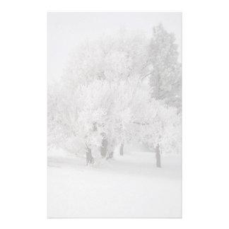 Trees in Fog II Stationery