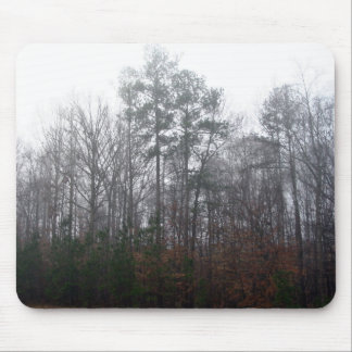 Trees in Fog Mouse Pad