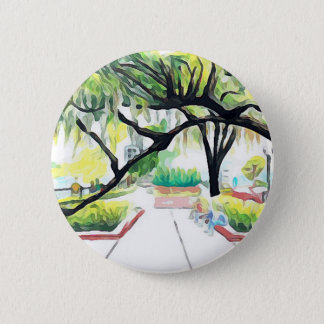 Trees in Lake Eola Pinback Button