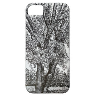 Trees in Pen and Ink iPhone SE/5/5s Case