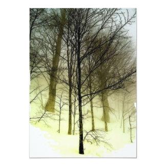 Trees in Snow Invitation