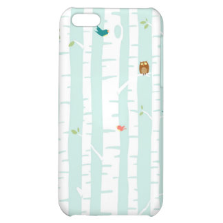 Trees in Spring iPhone 5C Covers