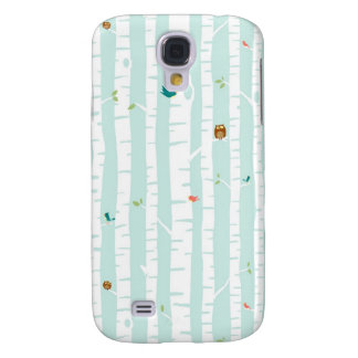 Trees in Spring Samsung Galaxy S4 Cases