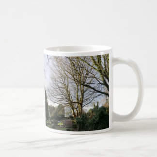 Trees in the Churchyard at Culross Classic White Coffee Mug