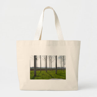 Trees in the French countryside Jumbo Tote Bag