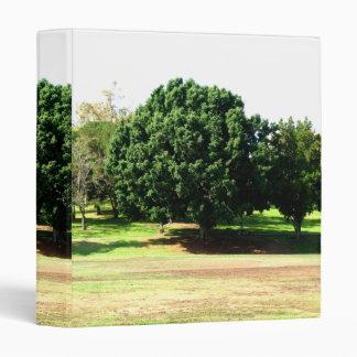 Trees In The Park Vinyl Binders
