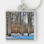 Trees In The Park Keychain