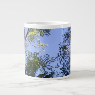 Trees In The Sky Giant Coffee Mug