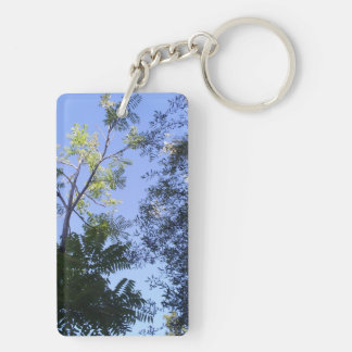 Trees In The Sky Keychain