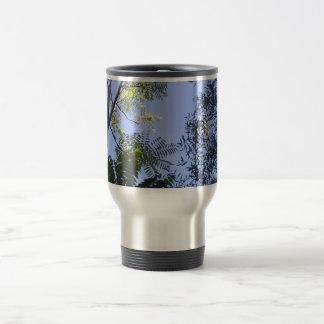 Trees In The Sky Travel Mug