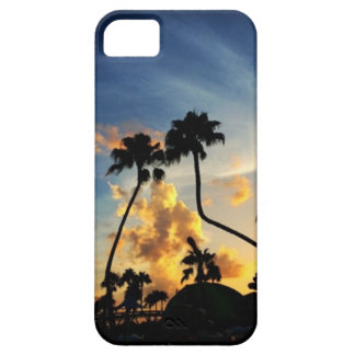 Trees in the Sunset Phone Case