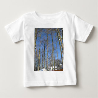 Trees in Winter Baby T-Shirt