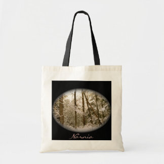 Trees In Winter Canvas Bags