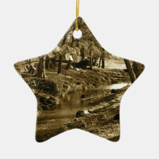 Trees in Yorkshire Ceramic Ornament