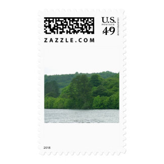 Trees Ireland Lough Gill Postage Stamp
