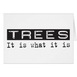 Trees It Is Card