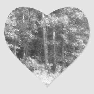 Trees.jpg Heart Sticker