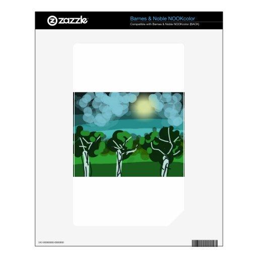 trees.jpg skin for NOOK color