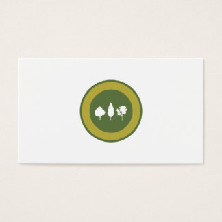 Trees Logo Business Card