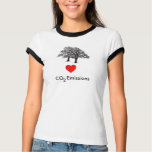 Trees Love CO2 Emissions T-Shirt