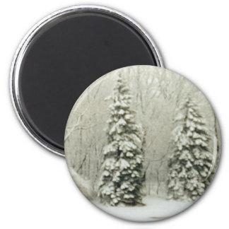 trees fridge magnets