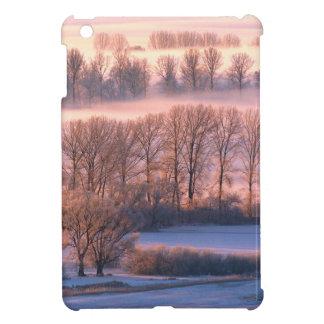Trees Misty Morn iPad Mini Cases