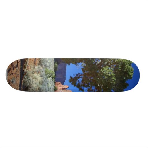 Trees Monument Valley Mesas Buttes Skate Board Deck