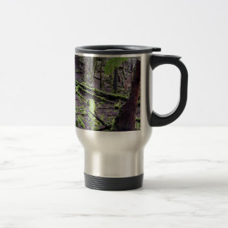TREES MOUNT FIELD NATIONAL PARK TASMANIA TRAVEL MUG