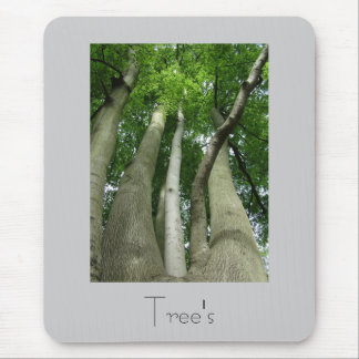 Trees Mousepad Design