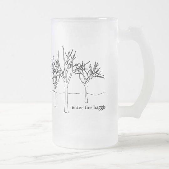 TREES MUG (Frosted Glass)