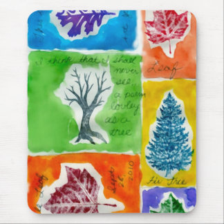 Trees N Leaves Mouse Pad