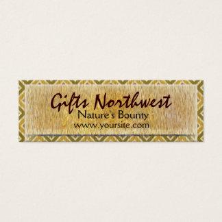 Trees Northwest Mini Business Card