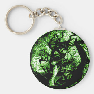 Trees of the Past Basic Round Button Keychain