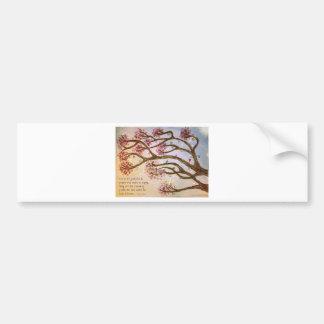 Trees of Wisdom Bumper Sticker