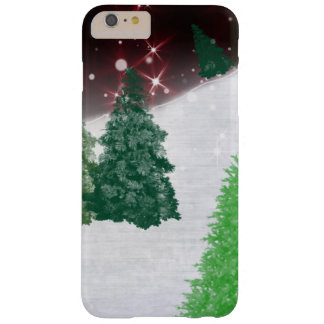 Trees on a Christmas Hill iPhone 6 Plus Case