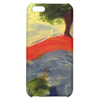 Trees on the Riverbank iPhone 5C Cases