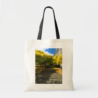Trees Over Footpath Tote Bag