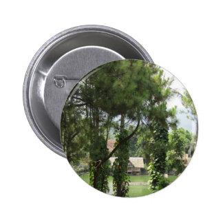 trees pinback button