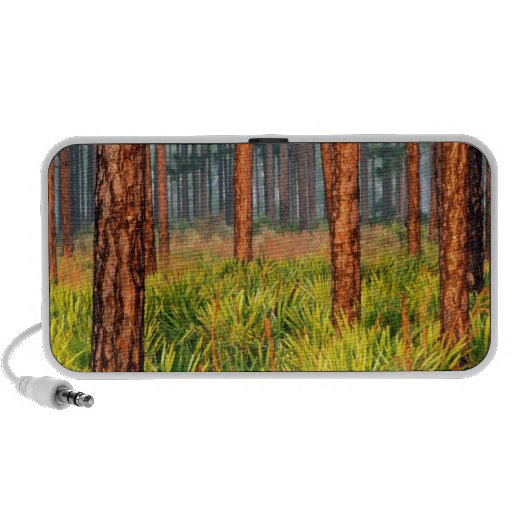 Trees Pines Escape Ranch Florida PC Speakers