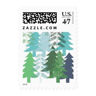 Trees Postage Stamp