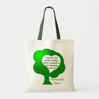 Trees quote bag