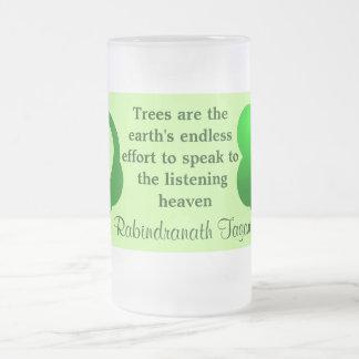 Trees quote mug
