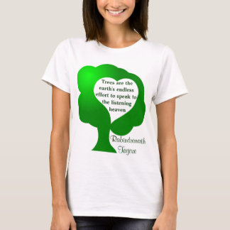 Trees quote womens shirt