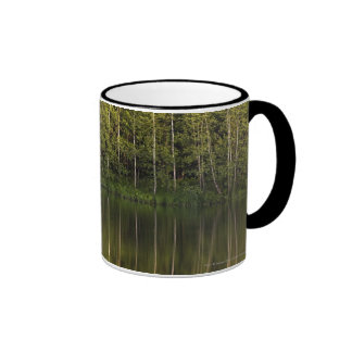 Trees Reflected In The Water Ringer Mug