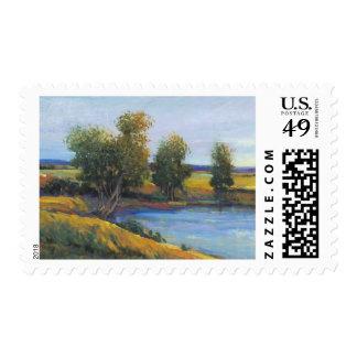 Tree's Reflection II Postage Stamp