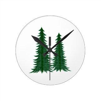 Trees Round Clock